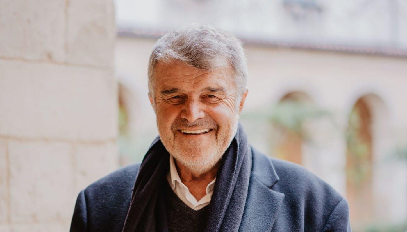 Jean-François Fountaine, Maire de la Rochelle - crédit photo : Lycia Walter - Enercoop Nouvelle-Aquitaine