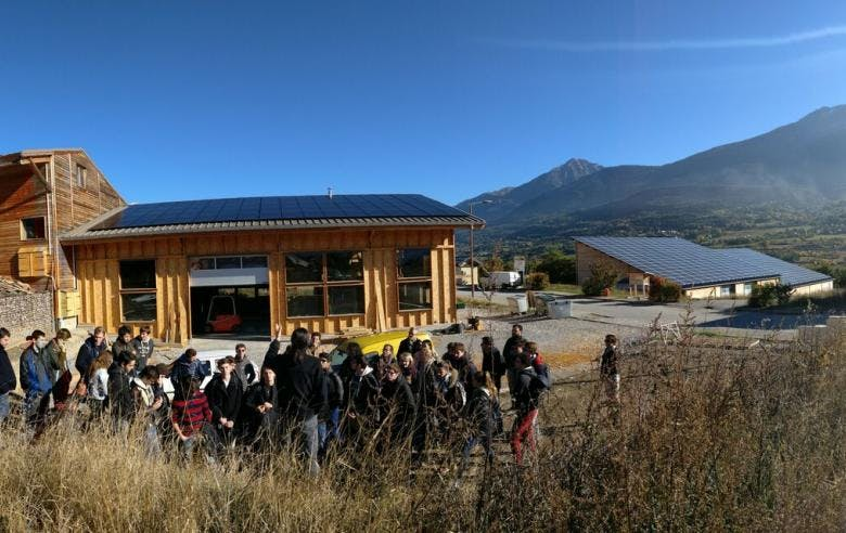 Enercoop Paca - Producteurs - Energies Collectives - Eco2Scop Embrun 05 - Inauguration