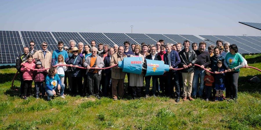 parc solaire d'Espalmade à Cintegabelle - Enercoop Midi-Pyrénées