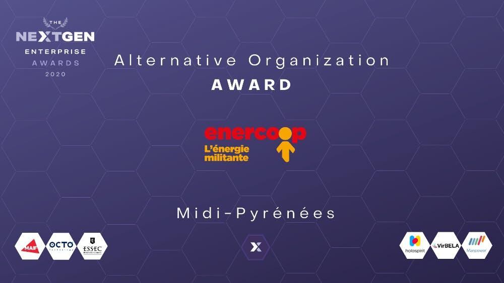 NextGen enterprise awards - Enercoop Midi-Pyrénées