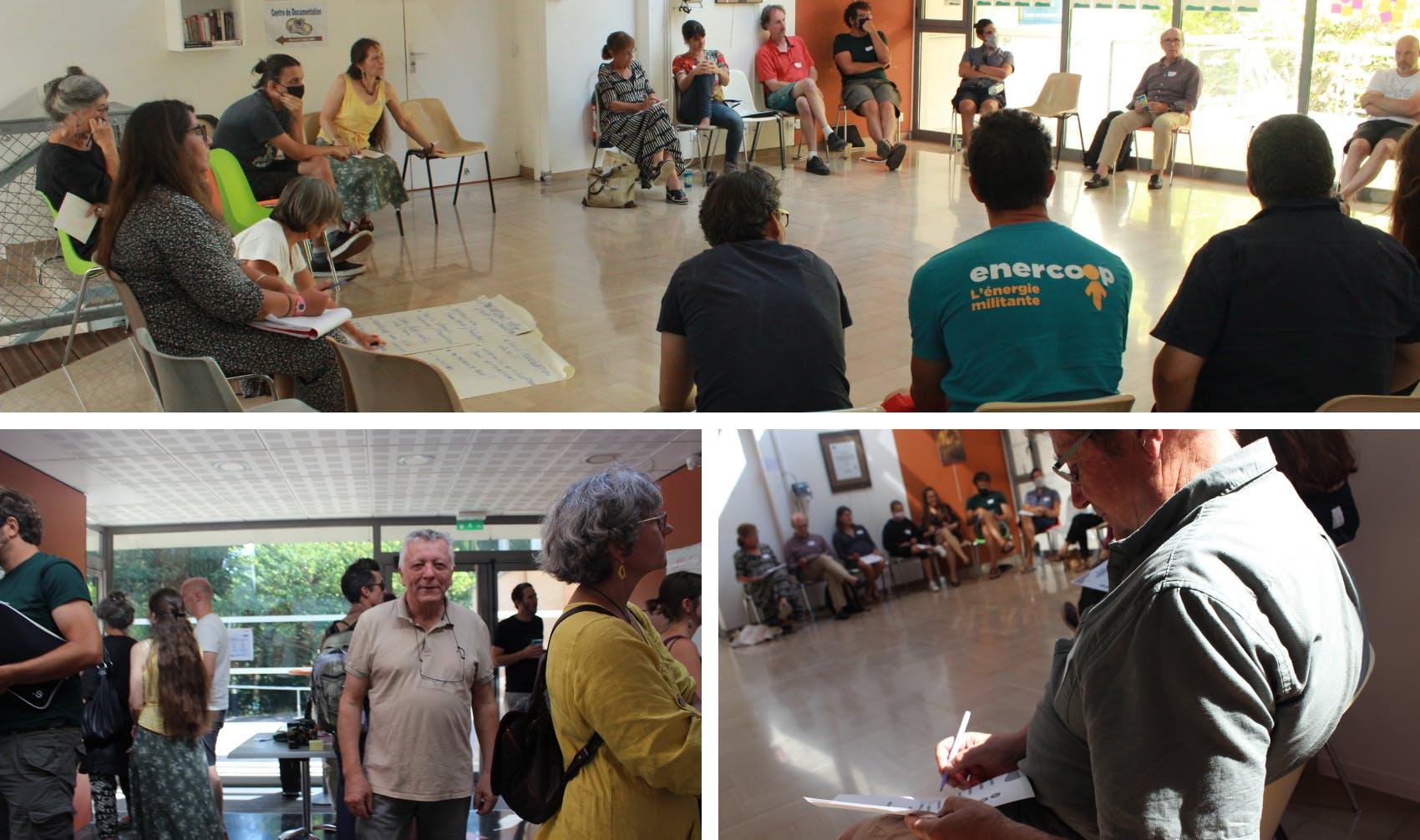 Photos Atelier 1 de la Vitalité et de la Différence Journées Réseau