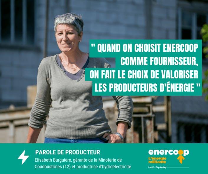 Témoignage d'Elisabeth Burguière, gérante de la minoterie de Coudoustrines