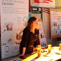 Stand Citiz, partenaire Enercoop en Hauts-de-France