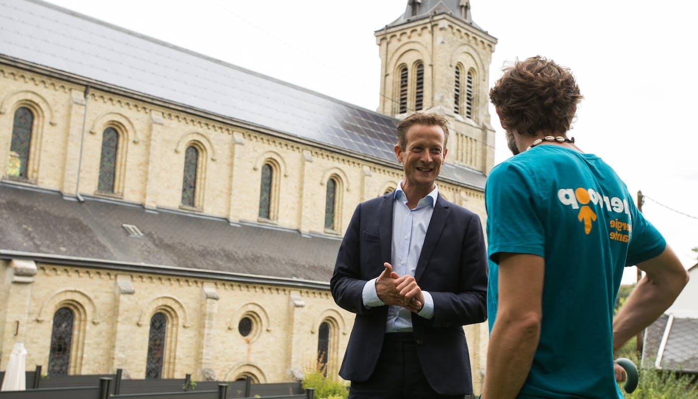 Enercoop - Malaunay - Solaire - Église - Collectivité - Maire - Salarié - Normandie