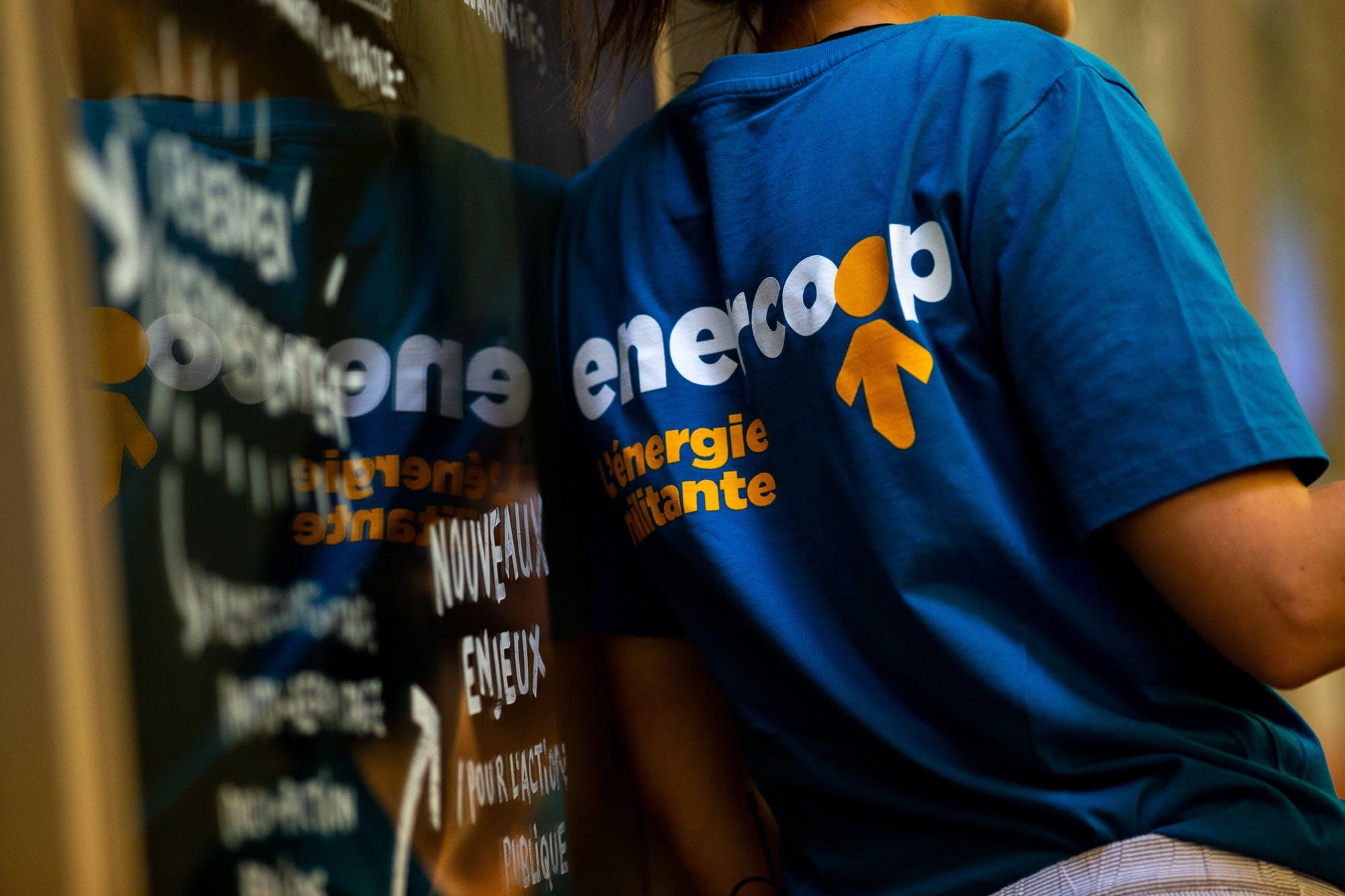 Enercoop - salariée - dos - tseeshirt - AG 2019