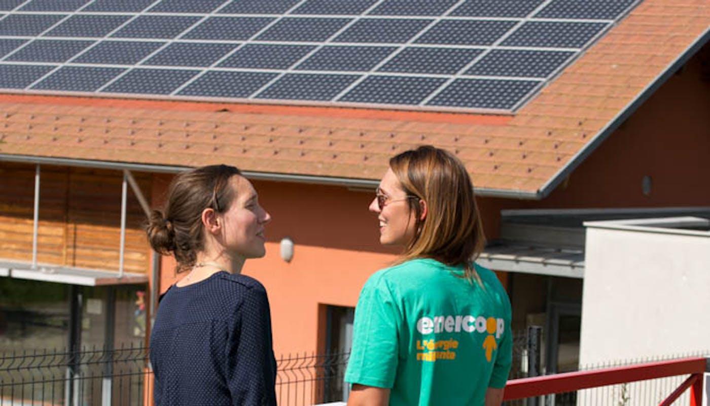Enercoop - Auvergne-Rhône-Alpes - Électricité - Photovoltaïque - Bilieu - École