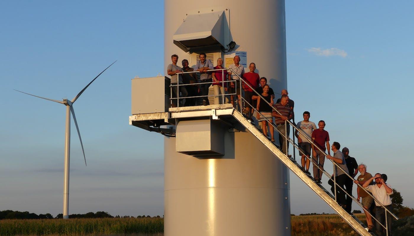 Enercoop - Énergie Partagée - Parc - éolien - citoyen - Atout - Vent