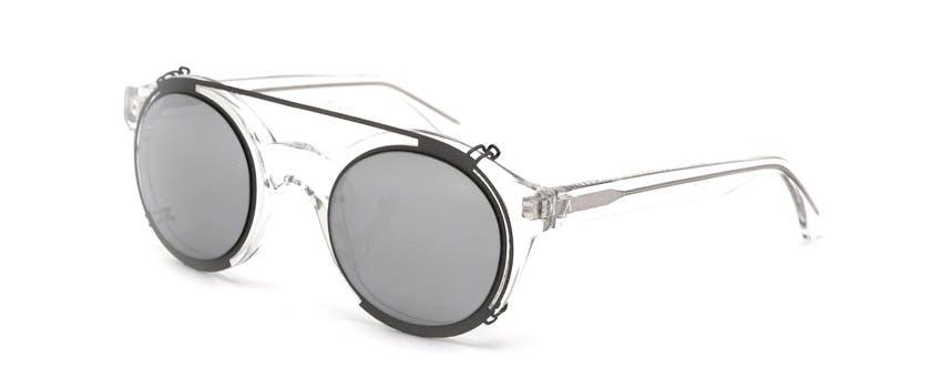 L'odeon C4 Silver Clip On Mirror