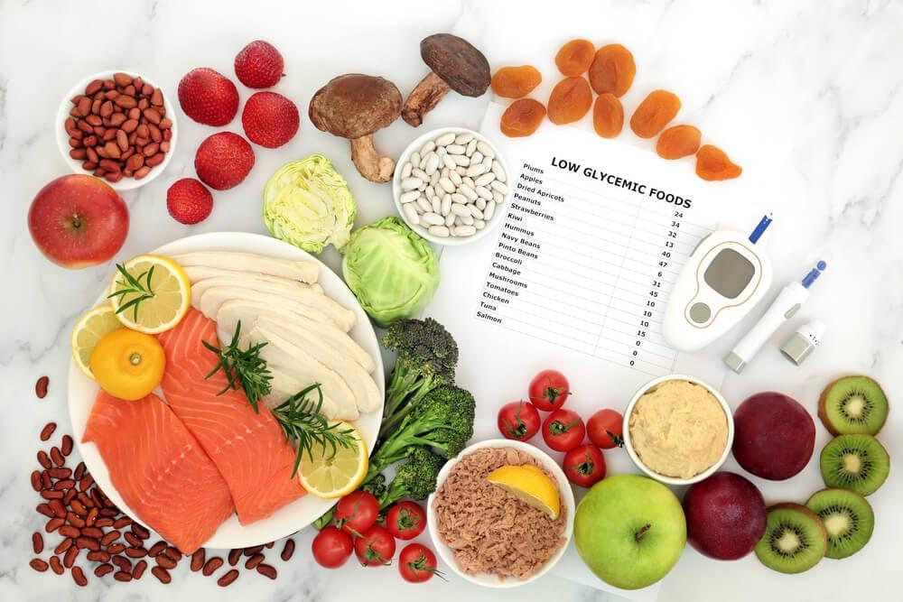 Alimentazione per tenere sotto controllo l'indice glicemico