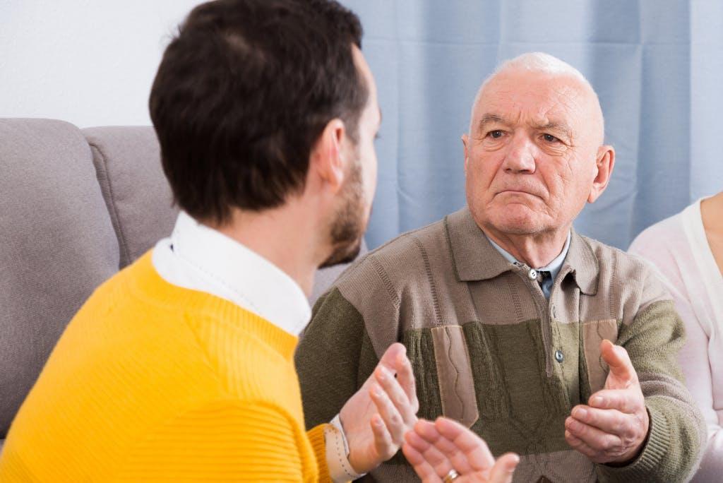 Genitori anziani ingestibili: come fare?