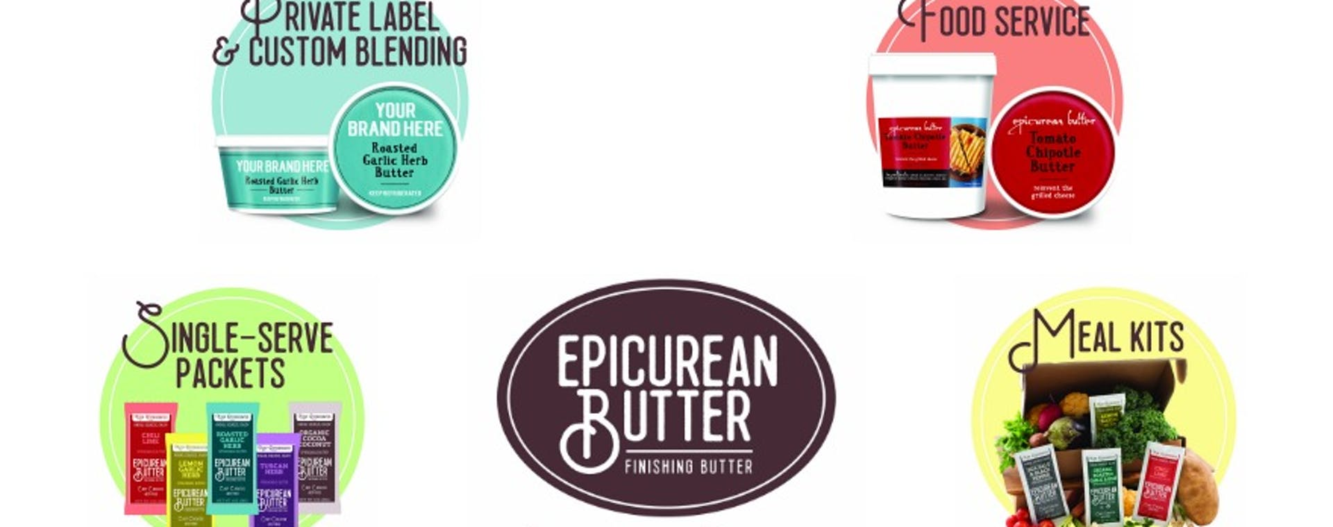 Epicurean Butter Business Lines