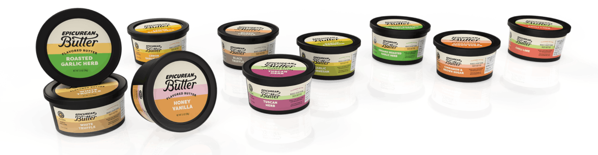 Epicurean Butter tubs