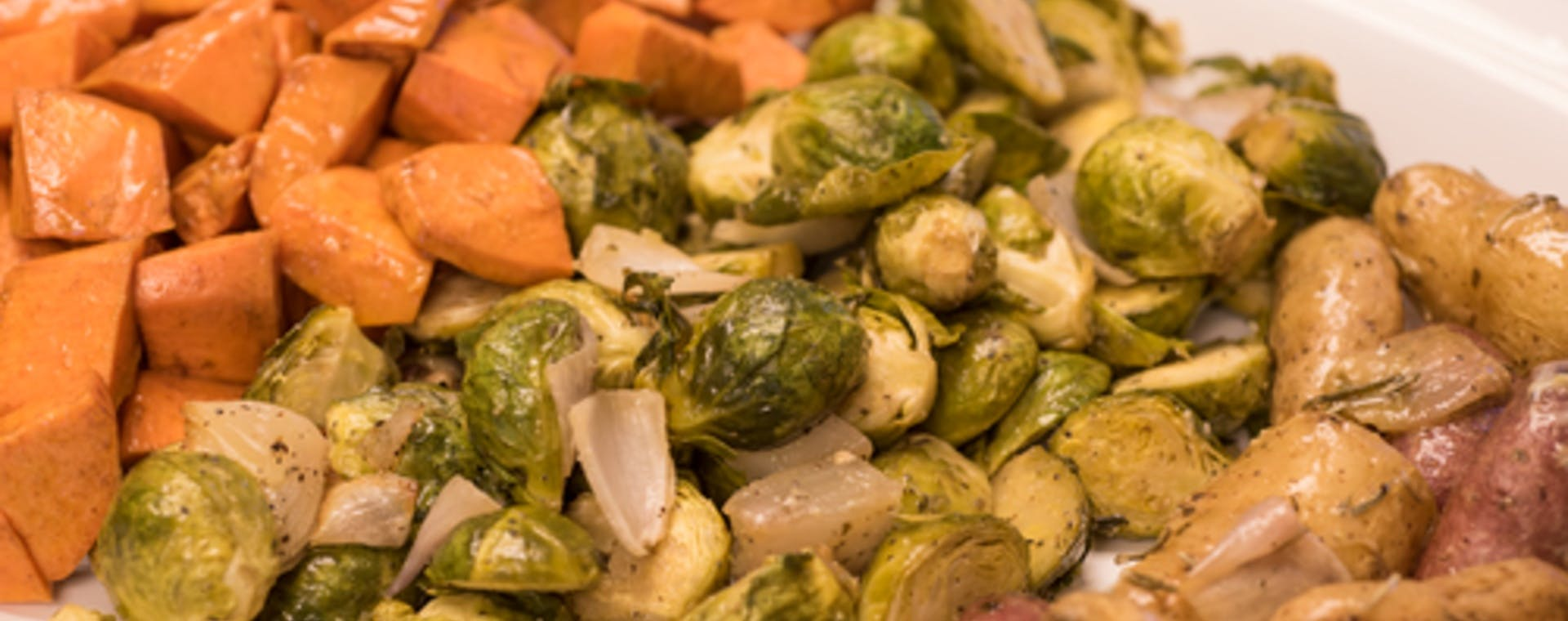 Oven-Roasted Vegetables with Epicurean Butter