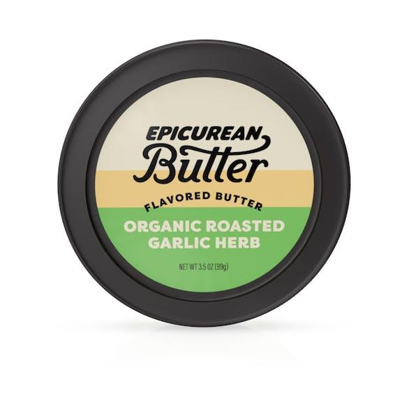 Organic Roasted Garlic Herb Butter