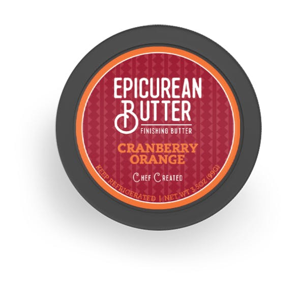 Cranberry Orange Butter top of tub view