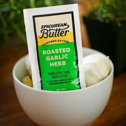 Epicurean Butter Roasted Garlic Herb 1 oz Packet