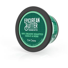 100% Organic Roasted Garlic Herb Butter