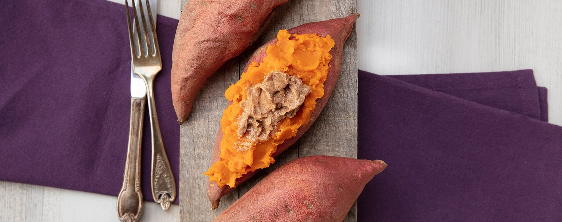 Pumpkin Spice Sweet Potatoes