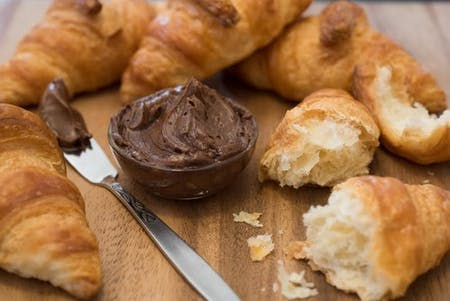 Pastries with Epicurean Cocoa Coconut Butter