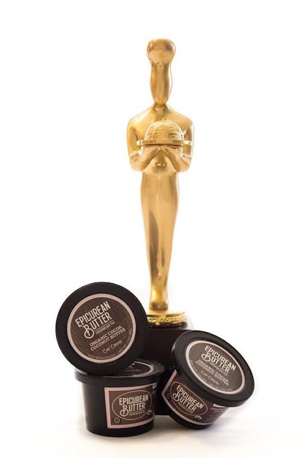Organic cocoa coconut butter is sofi award winner