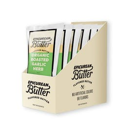 Organic Roasted Garlic Herb Butter 1oz 10-pack