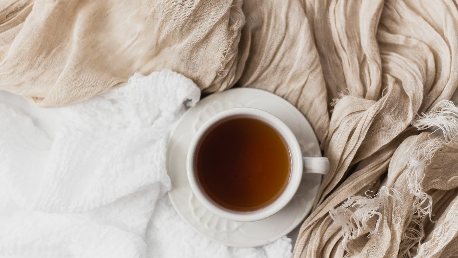 Photo d'une tasse de thé
