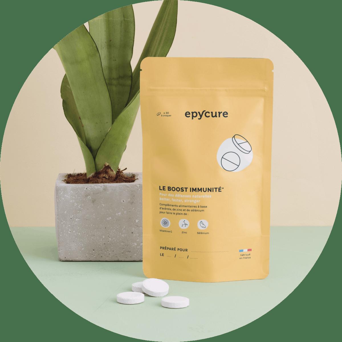 packaging boost immunité