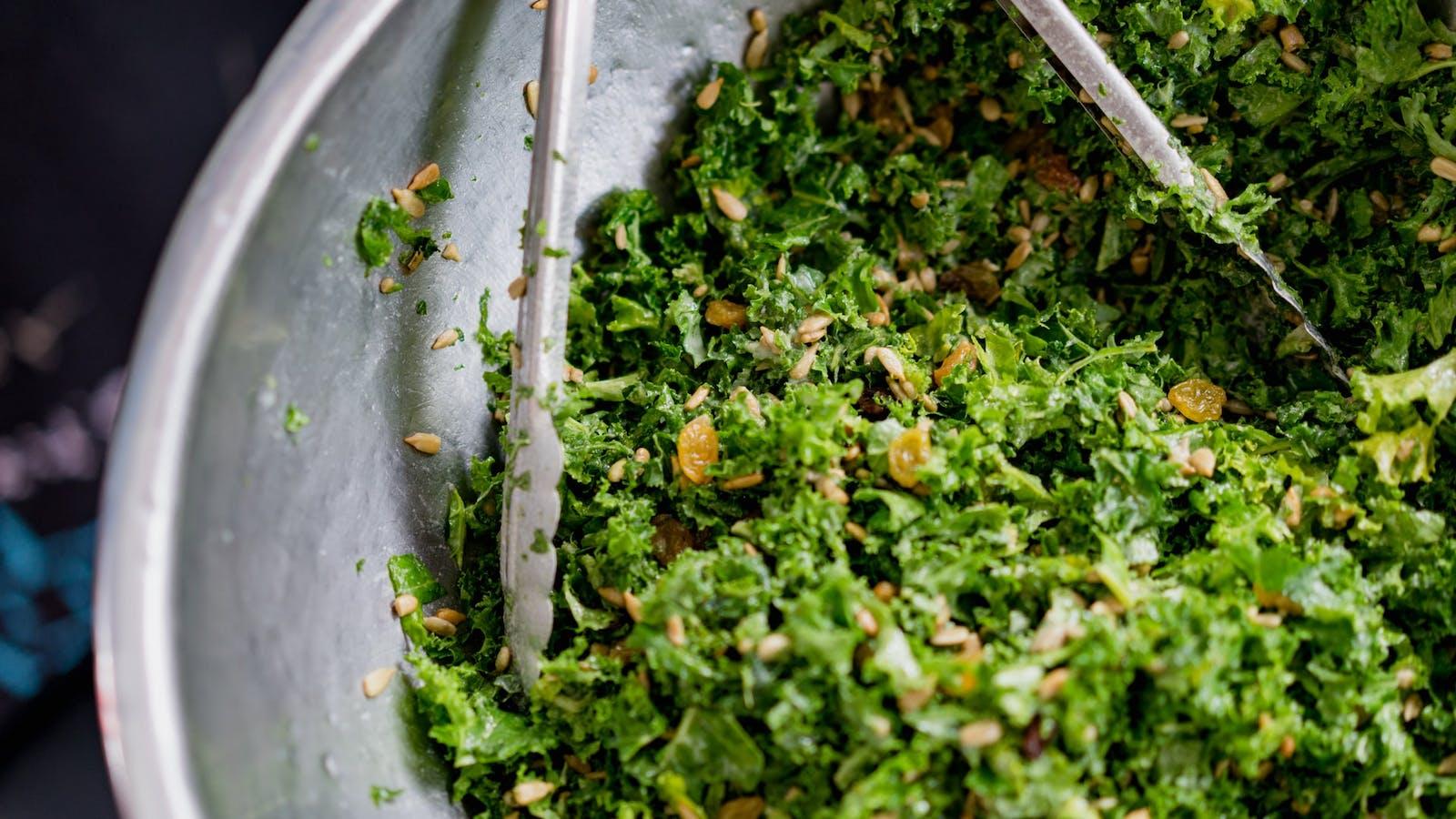 Salade de kâle