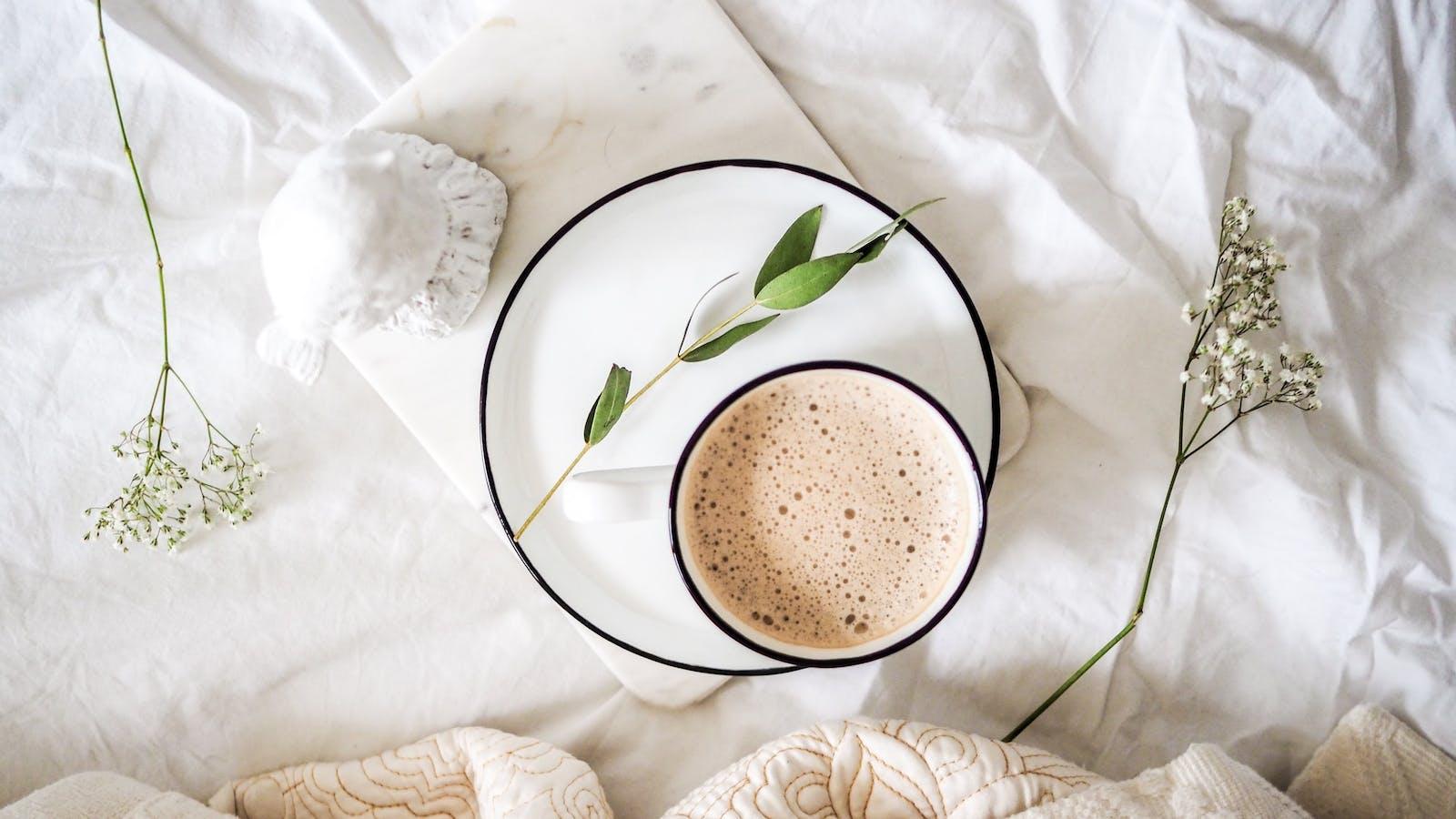 Tasse de café en couleurs