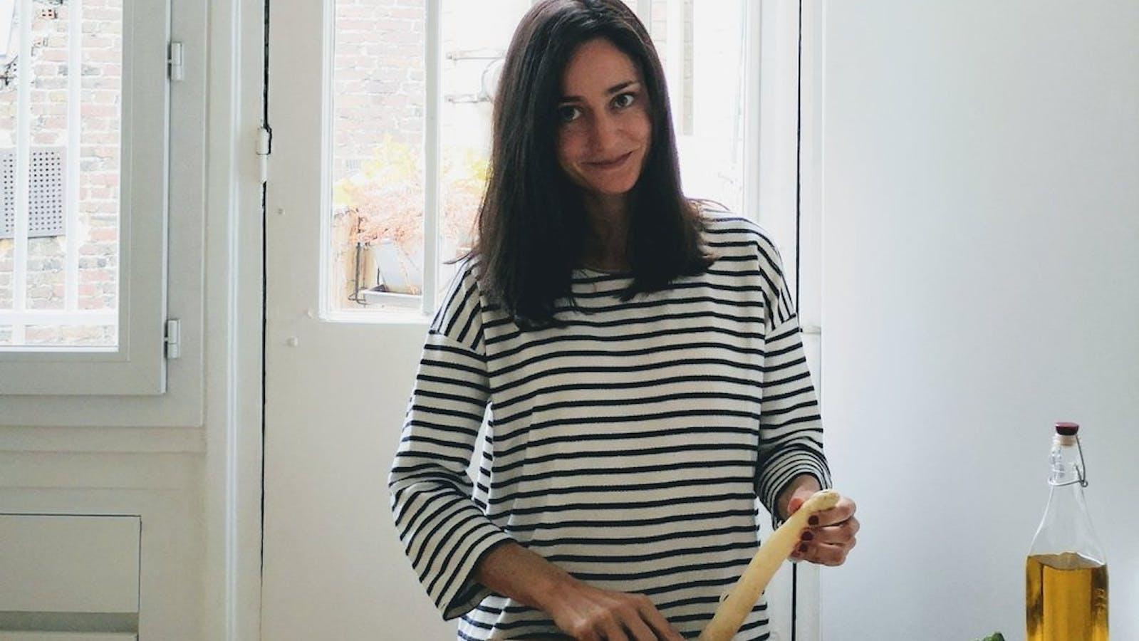 Portrait d'Andréa Denolle en couleurs
