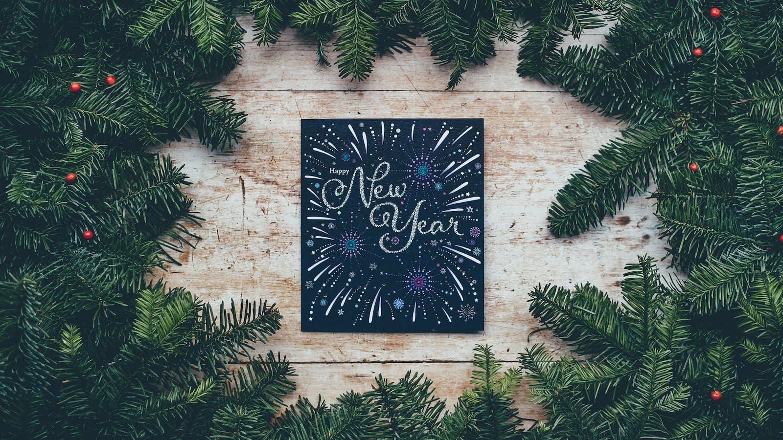 Cadre du nouvel an