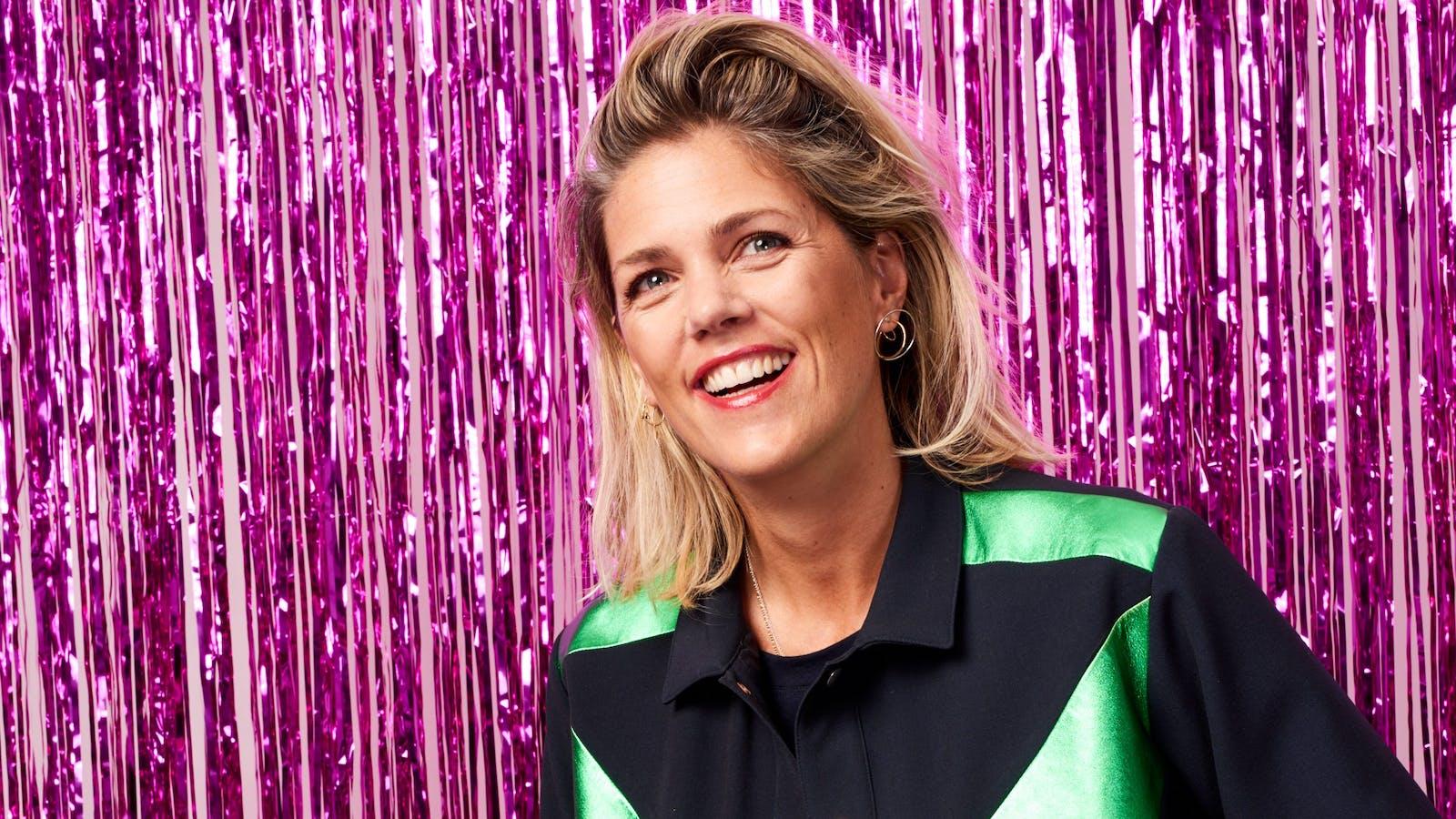 Portrait de Marie Courroy en couleurs