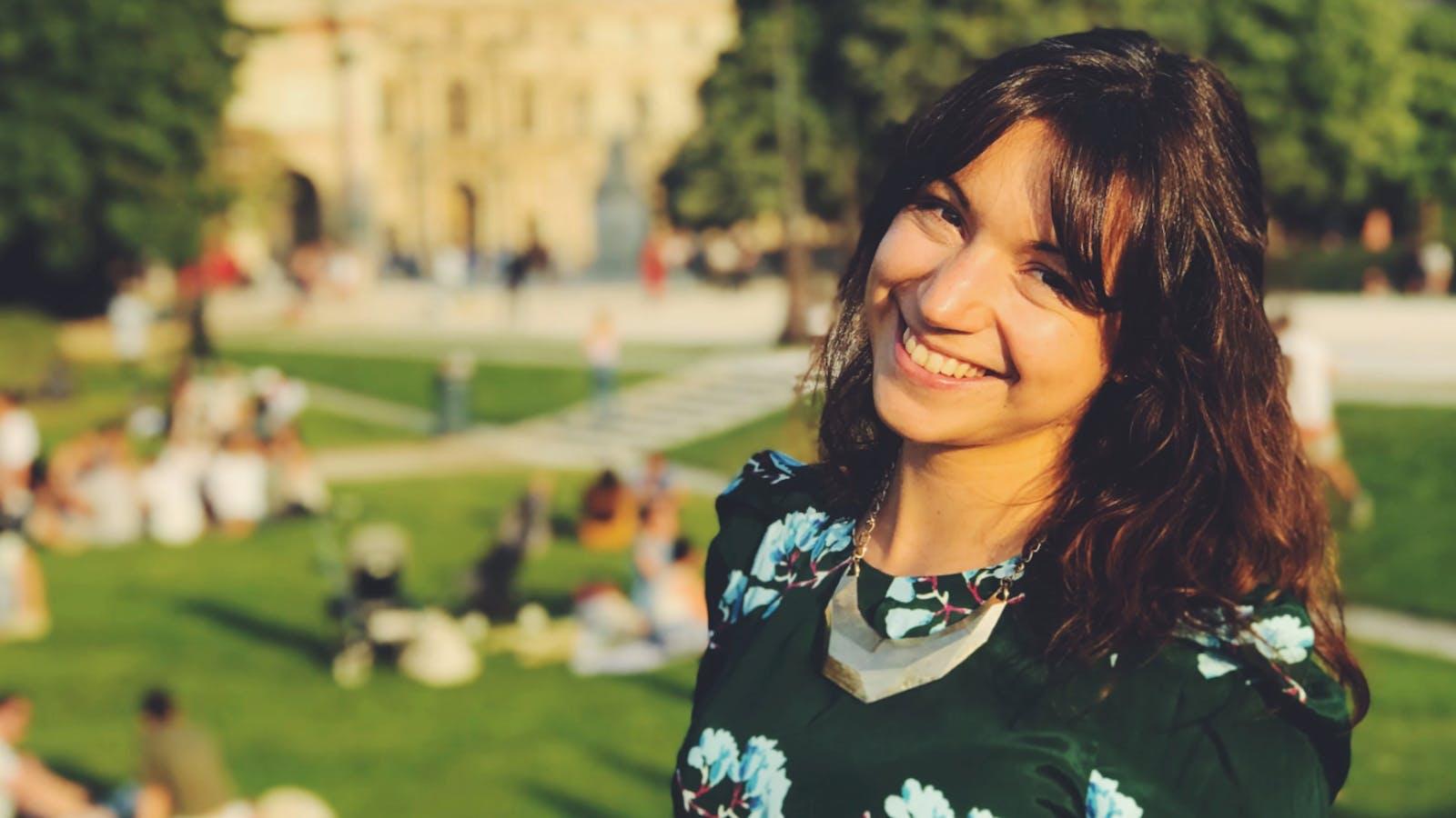 Portrait de Mélissa Parain en couleurs