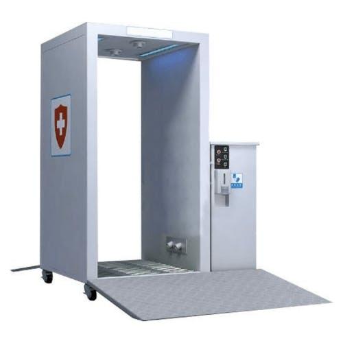 Tunnel de désinfection mobile num 2