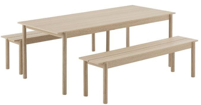 Banc Linear Wood num 5