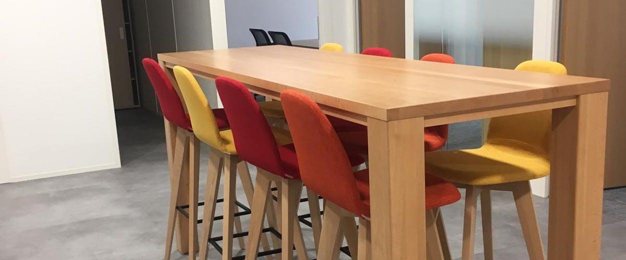 Création d'espaces de restauration et de coworking