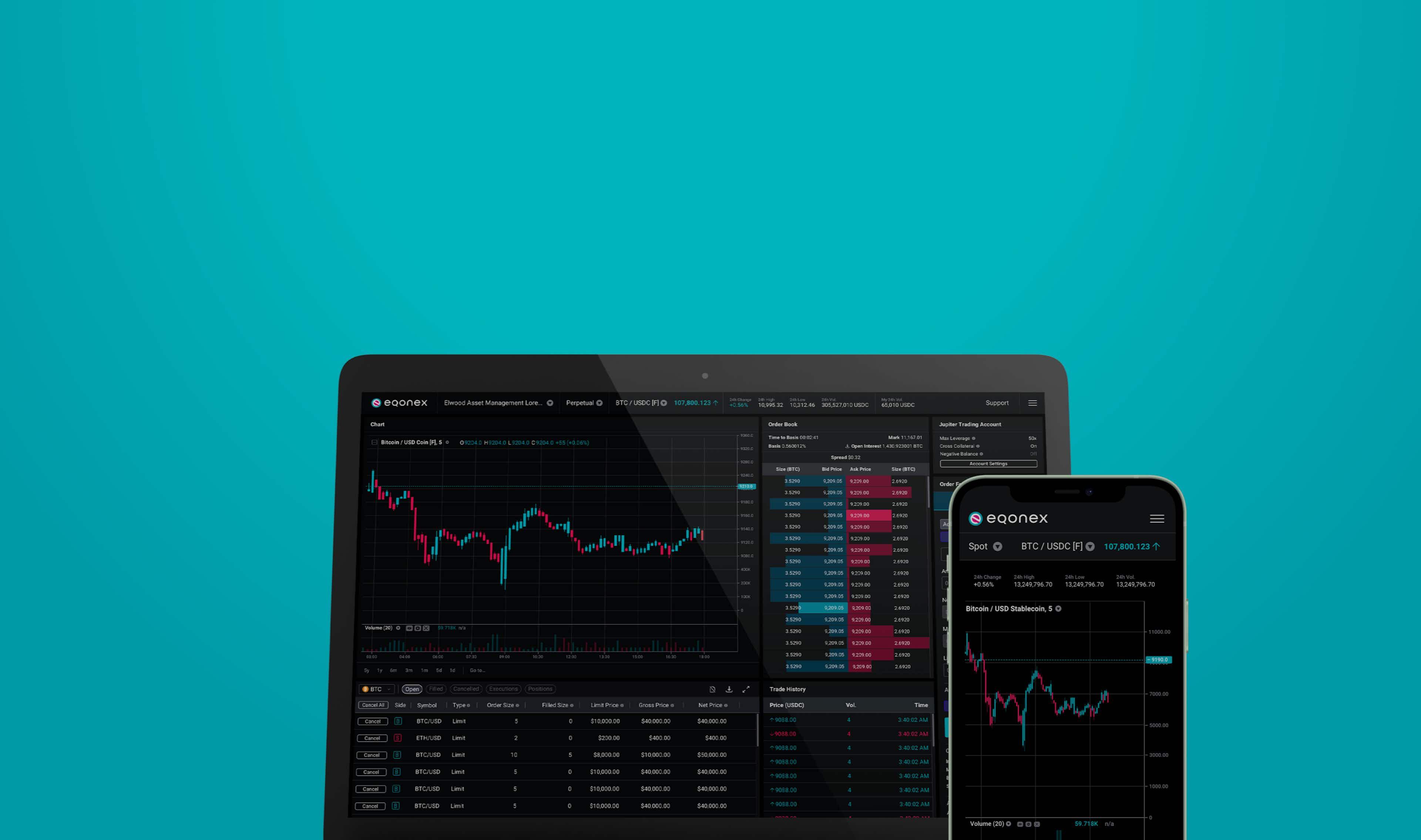 Image of the EQONEX exchange