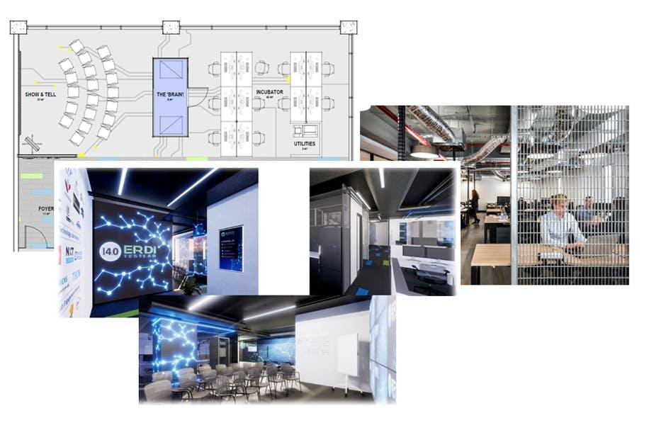 UWA i4.0 ERDi TestLab Conceptual Designs