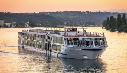 Flodkryssaren Amadeus Provence från Lüftner Cruises.