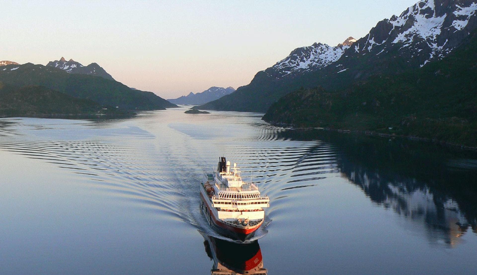 Hurtigrutens MS Nordlys. Foto: Sabrina Liebe/Hurtigruten