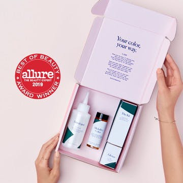 Image of esalon color set with allure seal for winning Allure's Best of Beauty for 2019