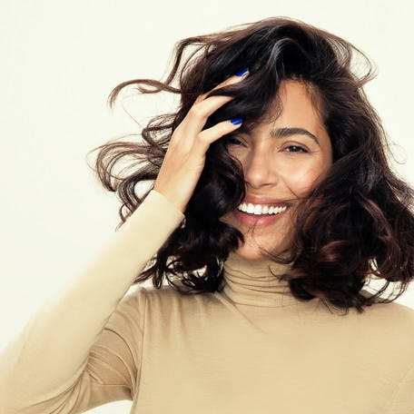Image of esalon client chelsea with effortless waves hairstyle