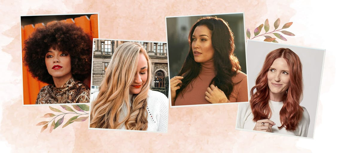 Four eSalon Instagram followers showcase their custom home hair color, made by the pros with Color Set as inspiration for 2021 fall and winter hair color picks.