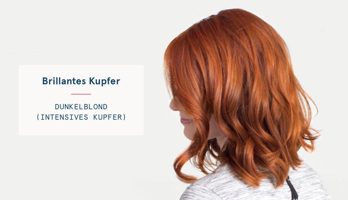 Rote haarfarbe für dunkle haare