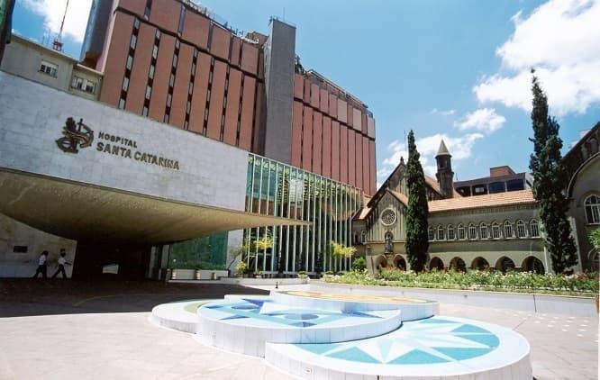 Fachada Hospital Santa Catarina