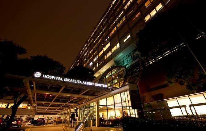 Fachada Hospital Albert Einstein