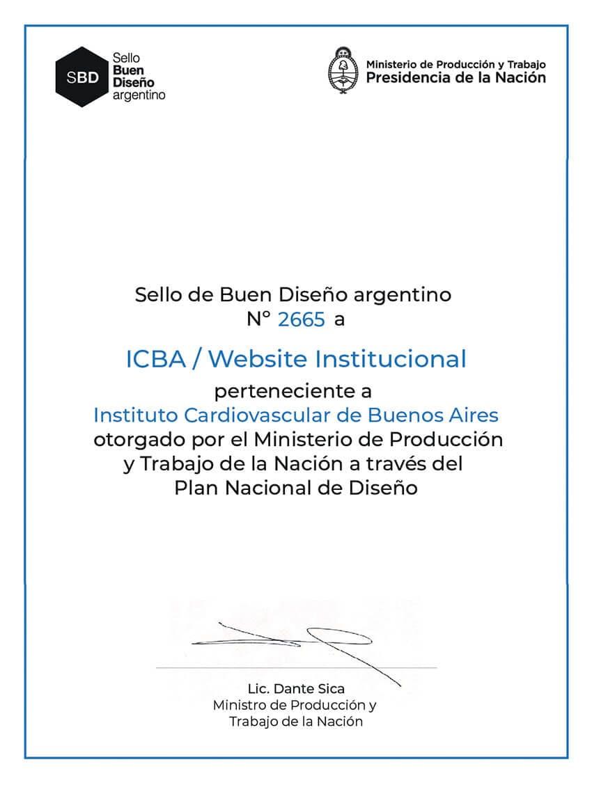 SBD Sello Buen Diseño Argentino