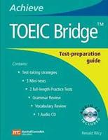 Couverture du livre Achieve TOEIC Bridge