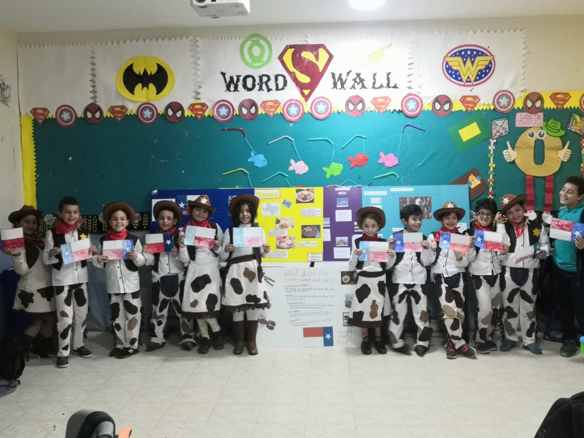 Manhattan International School project 1