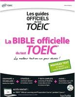 Couverture du livre La Bible officielle du test TOEIC